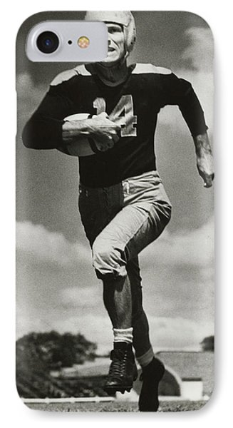 Don Hutson Running IPhone Case by Gianfranco Weiss