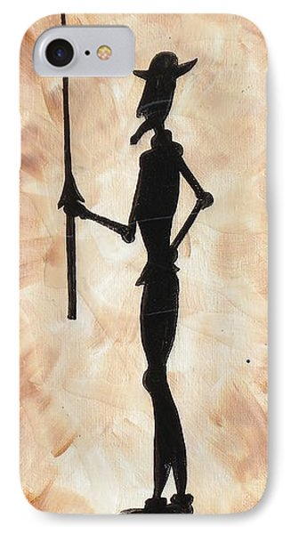 Don Quijote Phone Case by Edwin Alverio