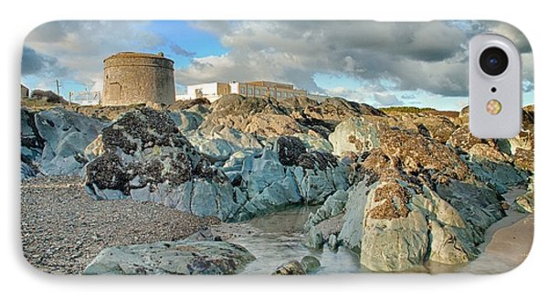 Donabate Martello Tower IPhone Case by Martina Fagan
