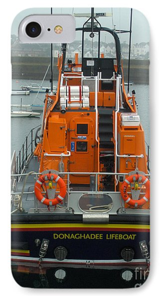 Donaghadee Rescue Lifeboat IPhone Case by Brenda Brown
