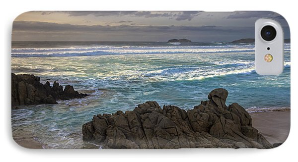 IPhone Case featuring the photograph Doninos Beach Ferrol Galicia Spain by Pablo Avanzini