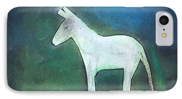 Donkey, 2011 Oil On Canvas IPhone Case by Roya Salari