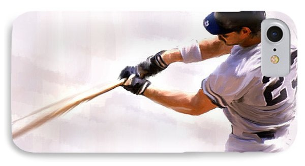 Donnie Ballgame Don Mattingly  IPhone Case by Iconic Images Art Gallery David Pucciarelli