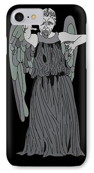 Dont Blink IPhone Case by Jera Sky