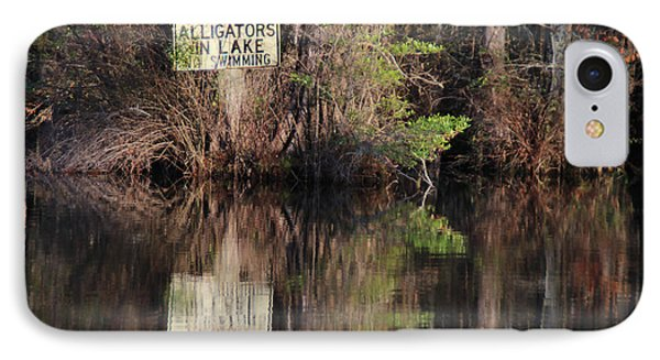 Don't Feed The Alligators IPhone Case