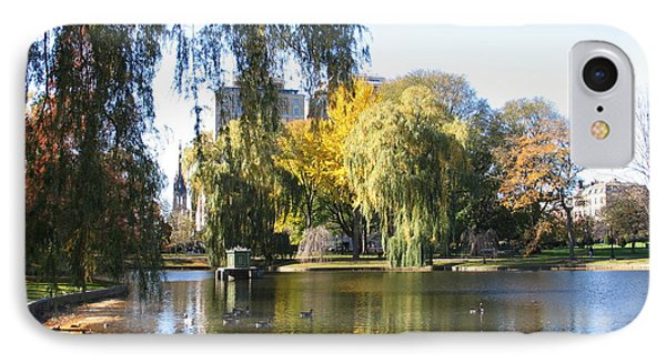 IPhone Case featuring the photograph Don't Feed The Ducks - Boston by Shelia Kempf