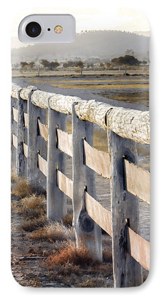 Don't Fence Me In IPhone Case by Holly Kempe