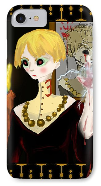 Don't Speak Her Name IPhone 7 Case by Jessica Mitchell