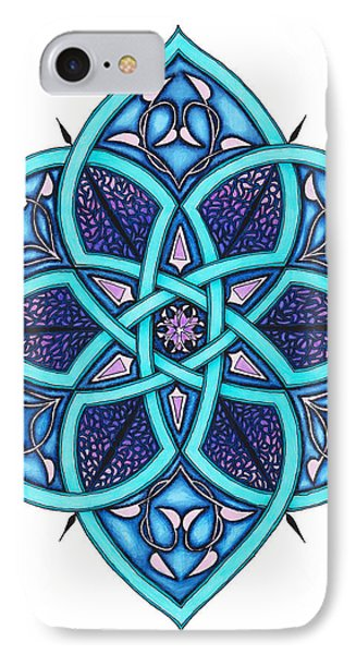 Doodle 8a Phone Case by Sherri Odegaarden