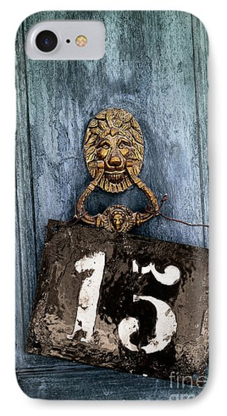 Door 15 IPhone Case by Carlos Caetano