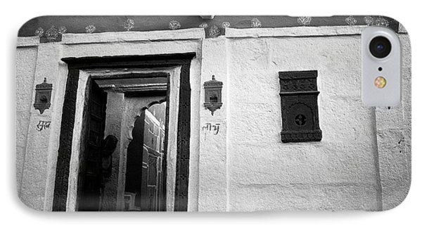 Door And Alcoves Phone Case by Jagdish Agarwal