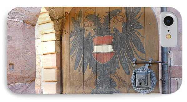 IPhone Case featuring the photograph Door At Nuremberg by Kay Gilley