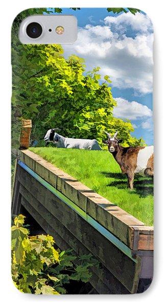 Door County Al Johnsons Swedish Restaurant Goats IPhone 7 Case
