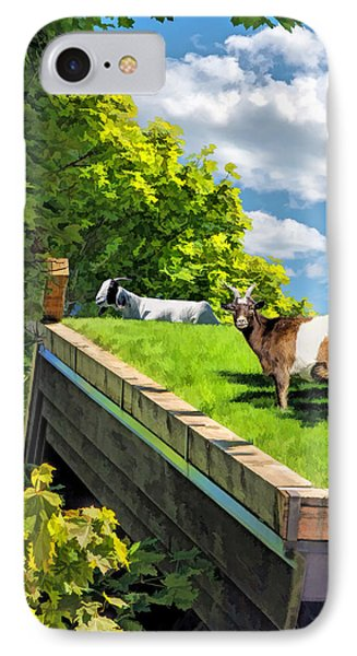 Door County Al Johnsons Swedish Restaurant Goats IPhone Case