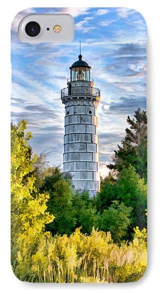 Door County Cana Island Beacon IPhone 7 Case by Christopher Arndt