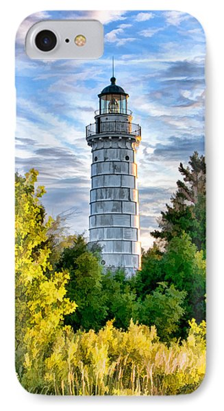 Door County Cana Island Beacon IPhone Case by Christopher Arndt