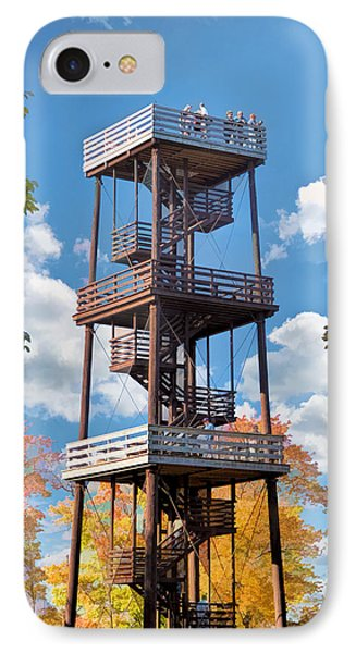 Door County Eagle Tower Peninsula State Park IPhone 7 Case by Christopher Arndt