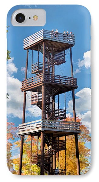 Door County Eagle Tower Peninsula State Park IPhone Case by Christopher Arndt