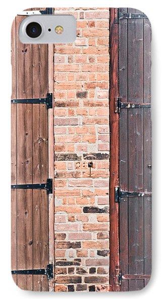 Door Hinges Phone Case by Tom Gowanlock