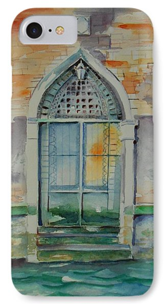 Door In Venice-italy IPhone Case by Geeta Biswas