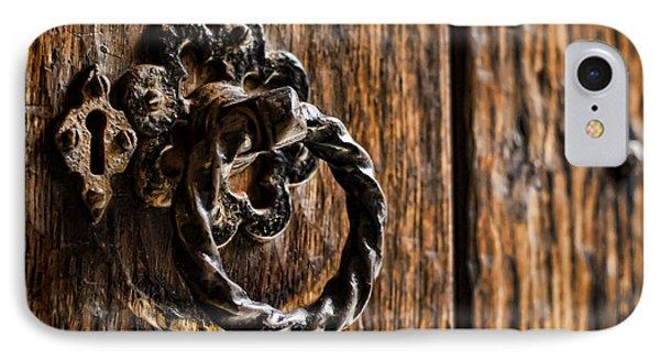 Door Knocker Phone Case by Heather Applegate
