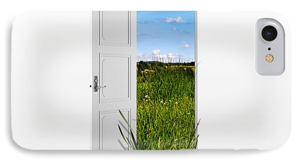 Door To Nature IPhone Case by Aged Pixel