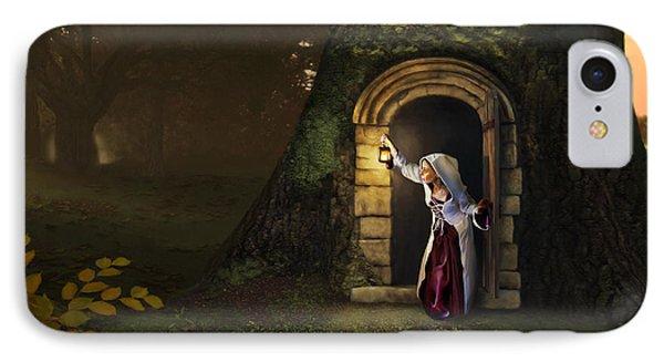 Door To The Underworld IPhone Case by Bob Nolin