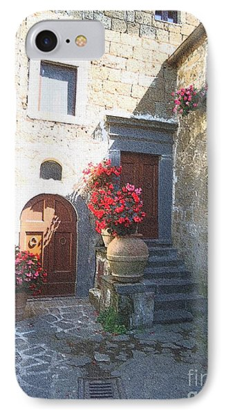 Doors In Bagnoregio IPhone Case