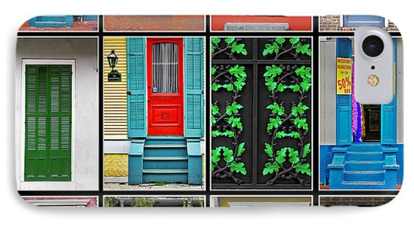 Doors New Orleans Phone Case by Christine Till