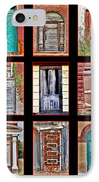 Doors Of Distinction IPhone Case by Pattie Calfy