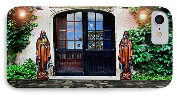 Doors Of Ivy IPhone Case by Michael Rucker