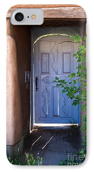 IPhone Case featuring the photograph Doors Of Santa Fe by Roselynne Broussard