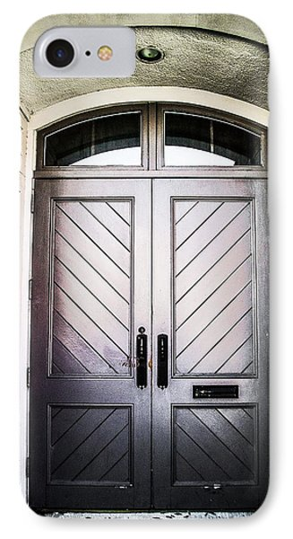 Doorway At Morris Avenue IPhone Case by Shelby  Young
