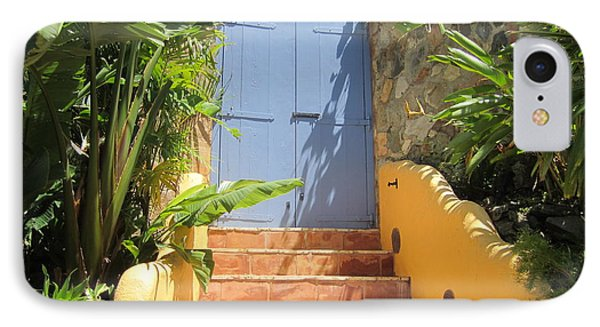IPhone Case featuring the photograph Doorway To Paradise by Fiona Kennard