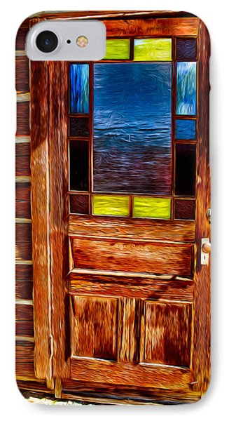 Doorway To The Past Phone Case by Omaste Witkowski