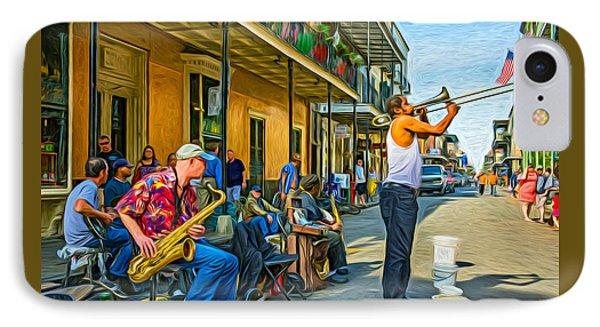 Doreen's Jazz New Orleans - Paint IPhone Case