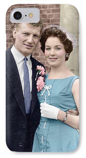 Doris And Gerry Wedding IPhone Case