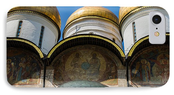 Dormition Cathedral - Square Phone Case by Alexander Senin