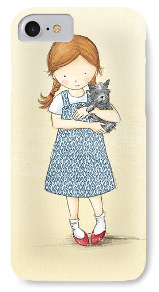 Dorothy IPhone Case by Amanda Francey