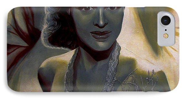 Dorothy Dandridge IPhone Case by Chelle Brantley