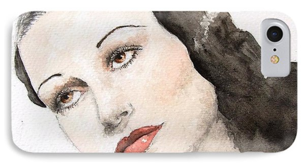 Dorothy Lamour IPhone Case by Natalia Chaplin