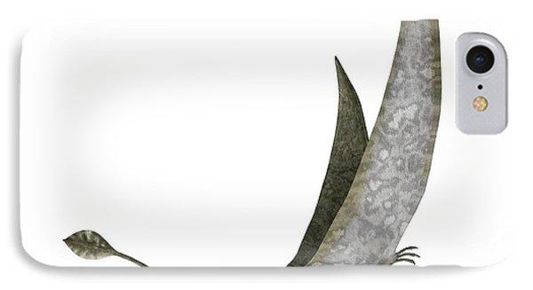 Dorygnathus Dinosaur IPhone Case by Leonello Calvetti