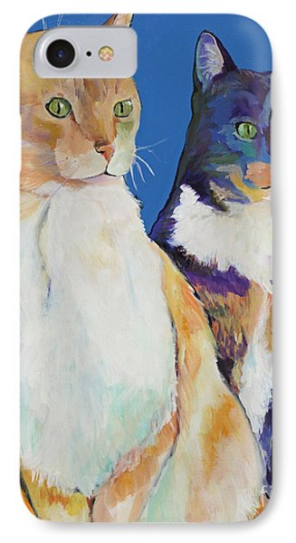 Dos Amores Phone Case by Pat Saunders-White