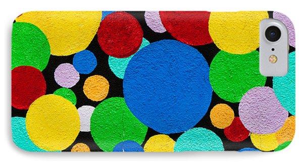 Dot Graffiti Phone Case by Art Block Collections