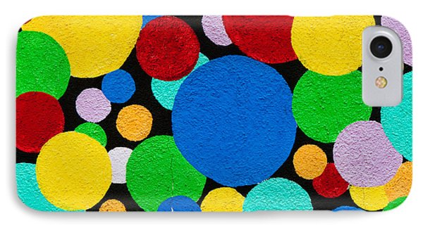Dot Graffiti IPhone Case by Art Block Collections