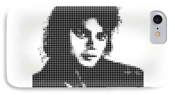 Michael Jackson - Dot Portrait IPhone Case