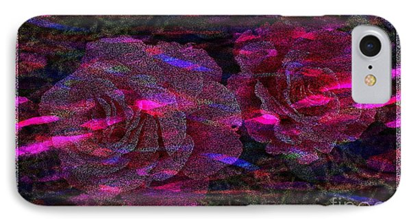 Dots Of Light And Roses Phone Case by Barbara Griffin