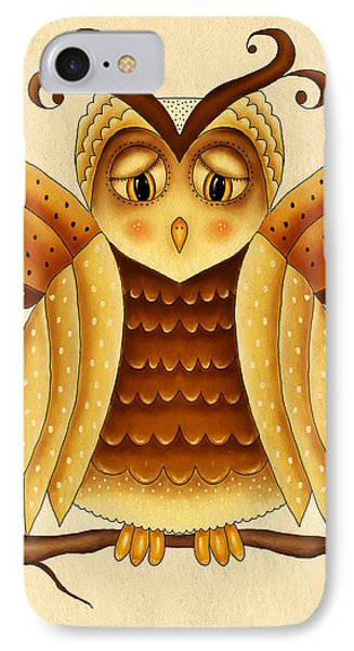 Dottie IPhone Case by Brenda Bryant