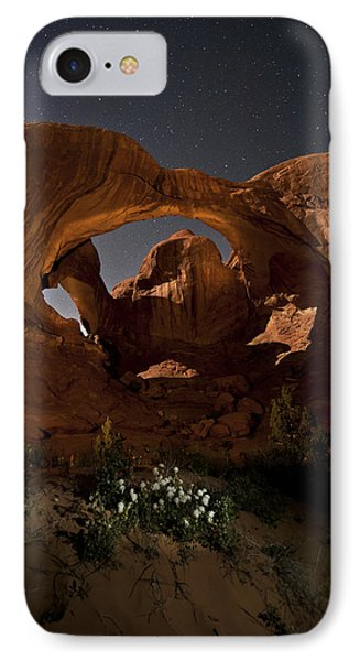Double Arch In The Moonlight IPhone Case