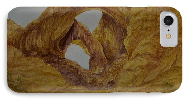 Double Arches Phone Case by Kathleen Keller